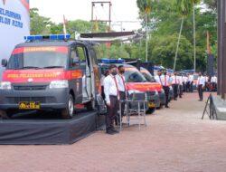 Wakapolri Resmikan Peluncuran 13 Unit Mobil Pelayanan Saksi