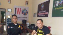 Paur Humas Polres Soppeng Silaturahmi ke Ketua IWO Soppeng