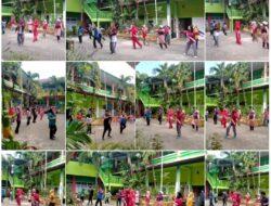 """Peringati """" HAORNAS """" UPT SPF SD. Negeri Kalukuang 1,2 dan 3. Gelar Senam Bersama"""