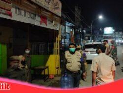 Ibrahim Chaidar Melalui Satgas Raika Kecamatan Ujung Tanah Gelar Patroli Gabungan Urai Kerumunan