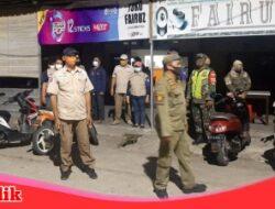Melalui Satgas Raika Kecamatan Ujung Tanah Gelar Patroli Gabungan Urai Kerumunan