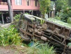 Rem Blong, Mobil Truck Dutro Muat Cipping Terbalik