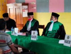 Hakim PA Watampone Langgar Prokes Covid-19, Saat Sidang Terpadu Di Gelar