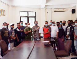 Sejumlah Petugas Kebersihan Kec. Tamalanrea Berkeluh Kesah di DPRD Makassar