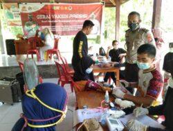 Keganasan Covid-19 Tidak Menurunkan Semangat Team Vaksinator Polres Pasangkayu Demi Masyarakat Sehat