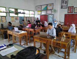 UPT SPF SD. Negeri Tamalanrea IV Makassar,.Gelar Simulasi ANBK Di Ikuti 35 Orang Siswa