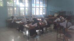 UPT SPF SMPN 4 Makassar Laksanakan Simulasi PTM, Siswa Wajib Rapid Test Antigen