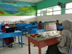 Simulasi Asesment Nasional Berbasis Komputer ( ANBK ) Di UPT SPF SD. Inpres Rappokalling II Makassar