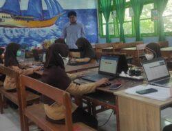 Simulasi ANBK Di UPT SPF SD. Negeri Kalukuang II Makassar,.Berjalan Lancar.