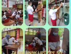 Patuhi Prokes, UPT SPF SDI Buttatianang II Makassar Laksanakan Simulasi ANBK